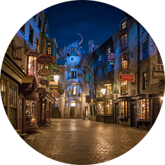 Harry Potter's Diagon Alley, Top Orlando Attractions